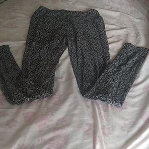 Other - Black white  leggings